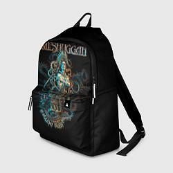 Рюкзак Meshuggah: Violent Sleep цвета 3D-принт — фото 1