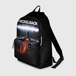 Рюкзак Nickelback: Feed the Machine цвета 3D-принт — фото 1