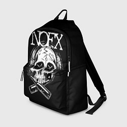 Рюкзак NOFX Skull цвета 3D-принт — фото 1