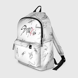 Рюкзак STRAY KIDS АВТОГРАФЫ цвета 3D-принт — фото 1