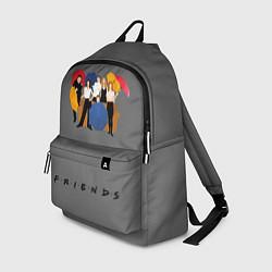 Рюкзак Friends with Umbrellas цвета 3D — фото 1