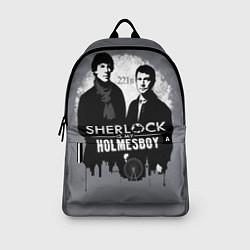 Рюкзак Sherlock Holmesboy цвета 3D-принт — фото 2