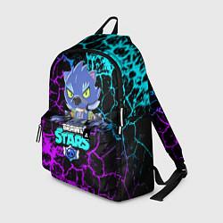 Рюкзак BRAWL STARS LEON ОБОРОТЕНЬ цвета 3D — фото 1
