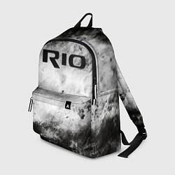 Рюкзак KIA RIO цвета 3D — фото 1