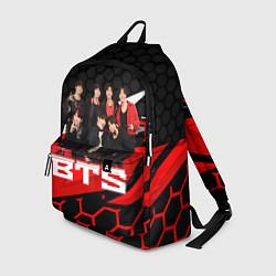 Рюкзак BTS цвета 3D-принт — фото 1
