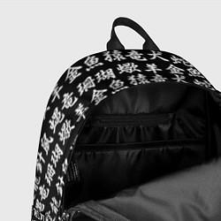 Рюкзак ИЕРОГЛИФЫ цвета 3D-принт — фото 2