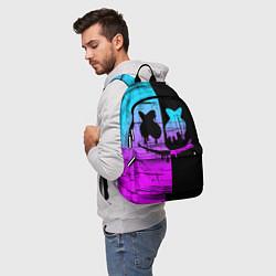 Рюкзак FORTNITE MARSHMELLO цвета 3D-принт — фото 2