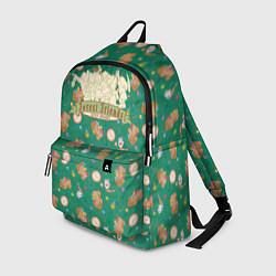 Рюкзак Лесные друзья Белоснежки цвета 3D-принт — фото 1