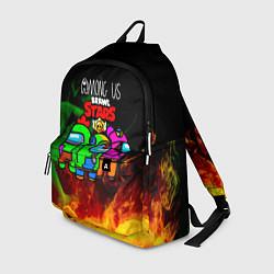 Рюкзак Among Us Brawl StarS цвета 3D — фото 1