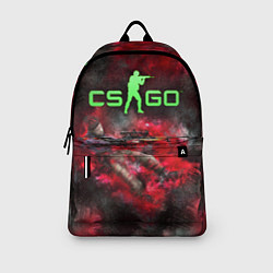 Рюкзак CS GO Red heat цвета 3D-принт — фото 2