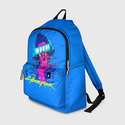 Рюкзак Cyberpunk 2077 цвета 3D — фото 1