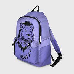 Рюкзак Царь зверей цвета 3D — фото 1