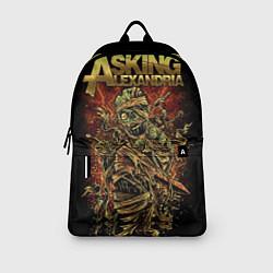Рюкзак Asking Alexandria цвета 3D-принт — фото 2