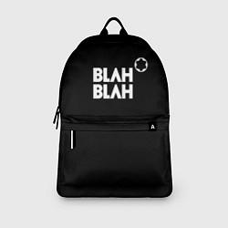Рюкзак Blah-blah цвета 3D-принт — фото 2