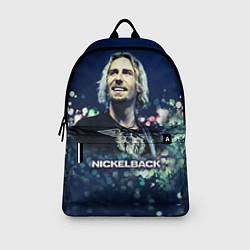 Рюкзак Nickelback: Chad Kroeger цвета 3D-принт — фото 2