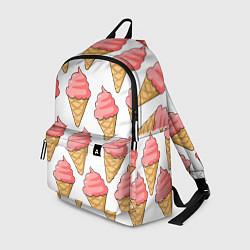 Рюкзак Мороженки цвета 3D — фото 1