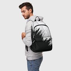 Городской рюкзак с принтом Черно-белый разрыв, цвет: 3D, артикул: 10098743905601 — фото 2