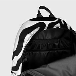 Рюкзак Зебра цвета 3D-принт — фото 2