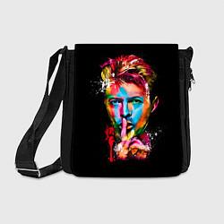 Сумка на плечо Дэвид Боуи цвета 3D-принт — фото 1