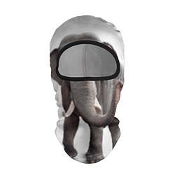 Балаклава Большой слон цвета 3D-черный — фото 1