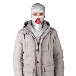 Балаклава Девушка цвета 3D-белый — фото 2