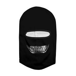 Балаклава Зубы Берсерка цвета 3D-черный — фото 2