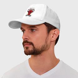 Бейсболка Chicago Bulls est. 1966 цвета белый — фото 1