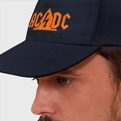 Бейсболка AC/DC: High Voltage цвета тёмно-синий — фото 2
