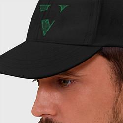 Бейсболка GTA V: Logo цвета черный — фото 2