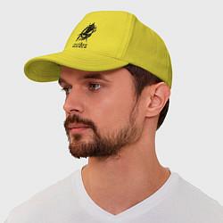 Бейсболка The Hunger Games цвета желтый — фото 1