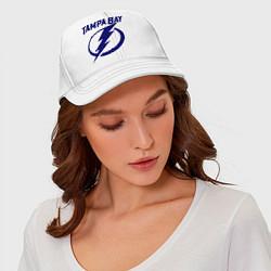Бейсболка HC Tampa Bay цвета белый — фото 2