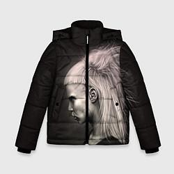 Куртка зимняя для мальчика Die Antwoord GIrl цвета 3D-черный — фото 1