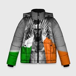 Куртка зимняя для мальчика McGregor: Boxing of Thrones цвета 3D-черный — фото 1