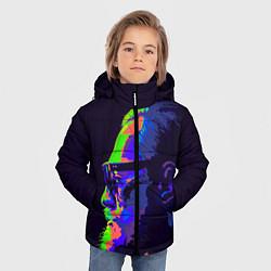 Детская зимняя куртка для мальчика с принтом McGregor Neon, цвет: 3D-черный, артикул: 10102380506063 — фото 2