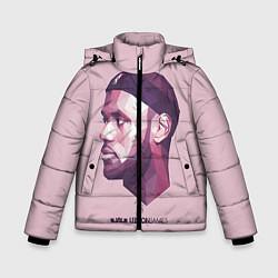Куртка зимняя для мальчика LeBron James: Poly Violet цвета 3D-черный — фото 1