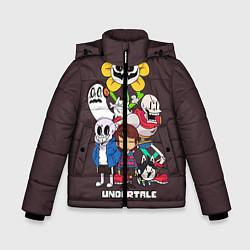 Куртка зимняя для мальчика Undertale 3 цвета 3D-черный — фото 1