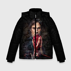 Куртка зимняя для мальчика Damon Salvatore V3 цвета 3D-черный — фото 1