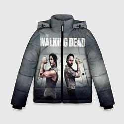 Куртка зимняя для мальчика Walking Duet цвета 3D-черный — фото 1