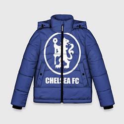 Куртка зимняя для мальчика Chelsea FC цвета 3D-черный — фото 1