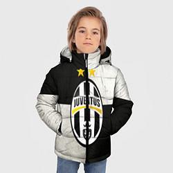 Куртка зимняя для мальчика Juventus FC цвета 3D-черный — фото 2