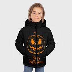 Детская зимняя куртка для мальчика с принтом Halloween, цвет: 3D-черный, артикул: 10108886906063 — фото 2