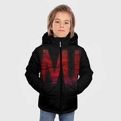 Куртка зимняя для мальчика Manchester United team цвета 3D-черный — фото 2