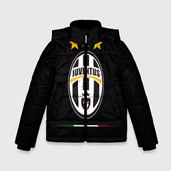Куртка зимняя для мальчика Juventus: 3 stars цвета 3D-черный — фото 1