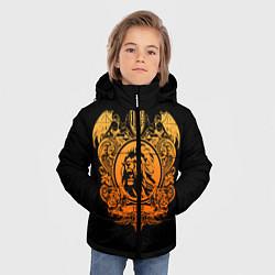 Куртка зимняя для мальчика Milan6 цвета 3D-черный — фото 2