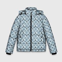 Куртка зимняя для мальчика Олени цвета 3D-черный — фото 1