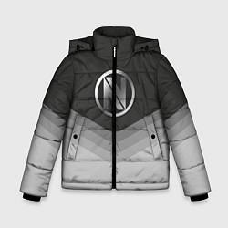 Куртка зимняя для мальчика EnVyUs Uniform цвета 3D-черный — фото 1