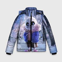 Куртка зимняя для мальчика Winter forest & Sans цвета 3D-черный — фото 1