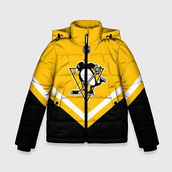 Куртка зимняя для мальчика NHL: Pittsburgh Penguins цвета 3D-черный — фото 1