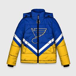 Куртка зимняя для мальчика NHL: St. Louis Blues цвета 3D-черный — фото 1