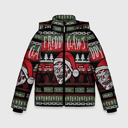 Куртка зимняя для мальчика Freddy Christmas цвета 3D-черный — фото 1